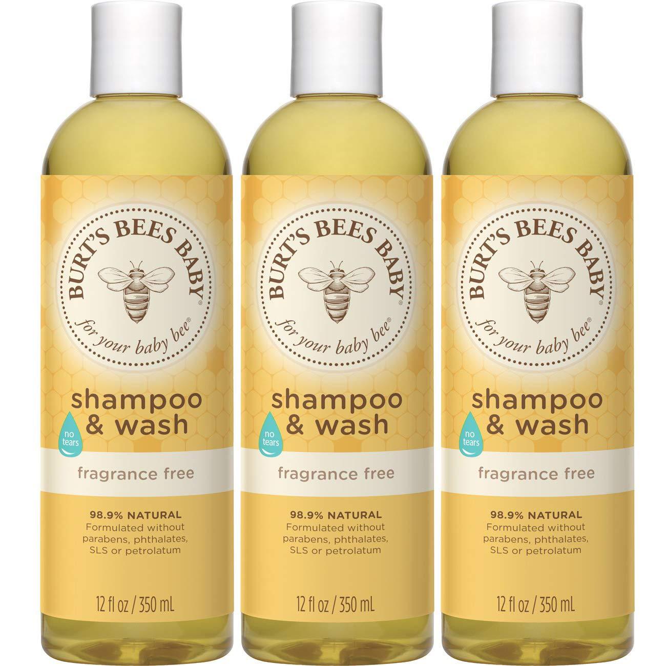 Amazon Com Burt S Bees Baby Bee Bubble Bath Tear Free