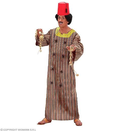 9992965e1b2a3 WIDMANN Desconocido Disfraz de Marroqui Adulto  Amazon.es  Juguetes ...