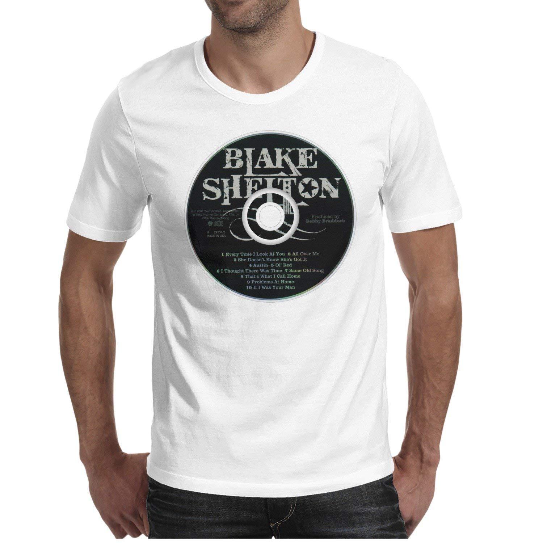 Amazon Luzuoq Mens T Shirts Blake Shelton Designer Shirts Clothing