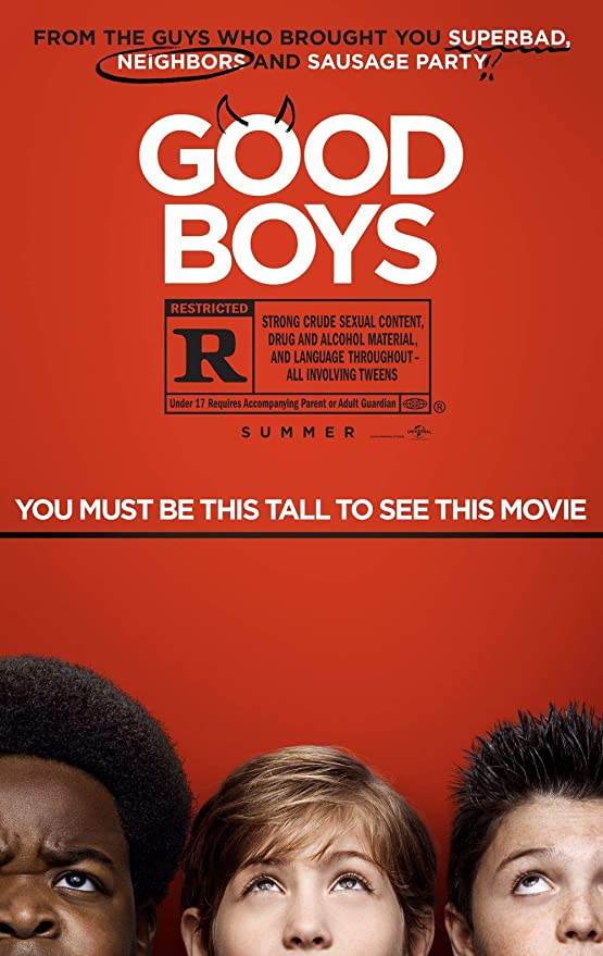 Lionbeen Good Boys Movie Poster Cartel de la Pelicula 70 X ...