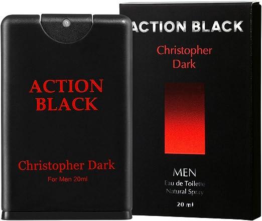 Christopher Dark Action Black Eau De