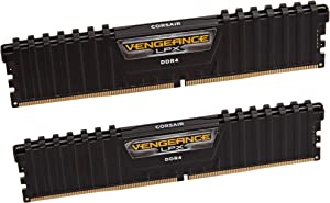 Corsair Vengeance LPX 64GB (2x32GB) DDR4 3600(PC4-28800) C181.35V Desktop Memory - Black