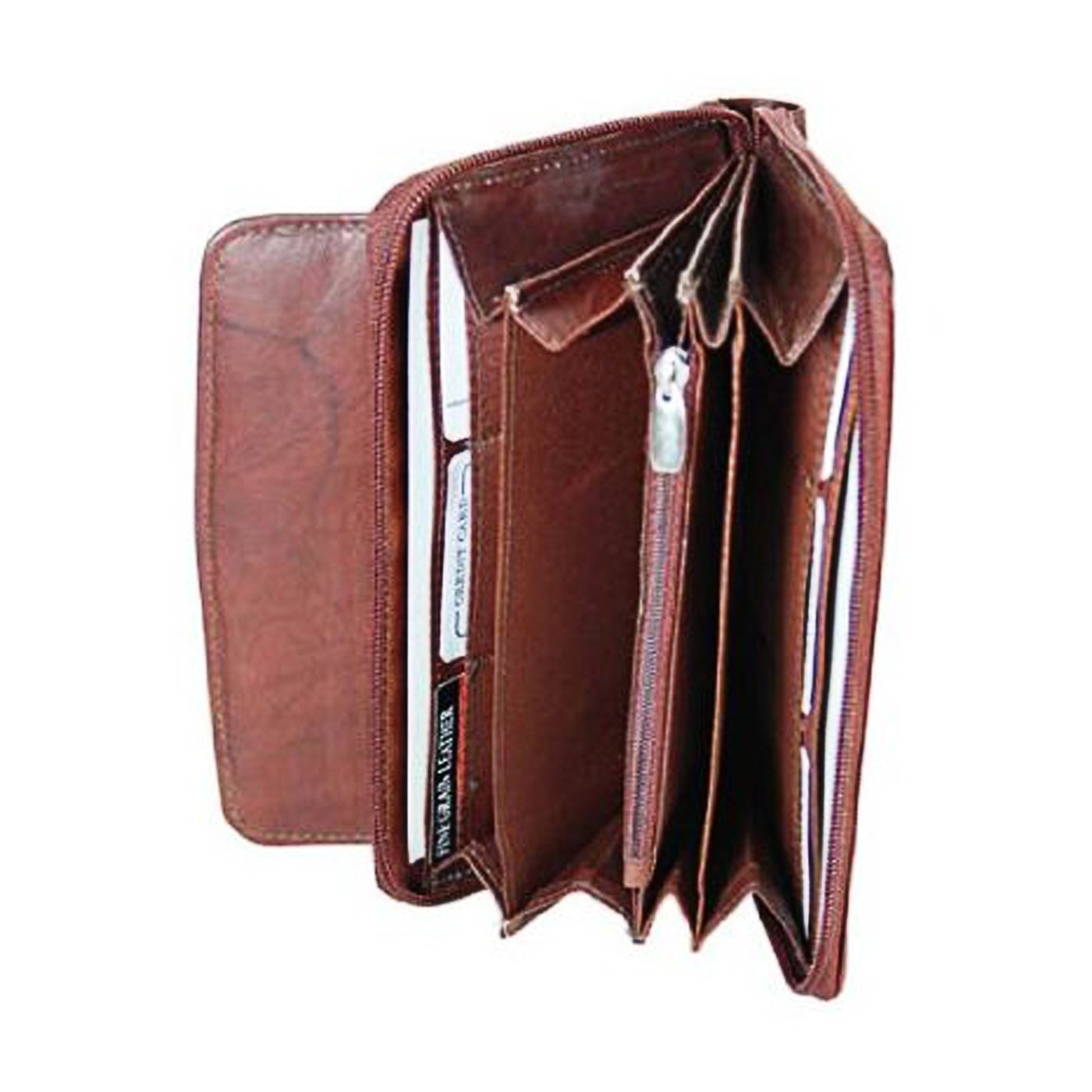 Brand New Leather Ladies Clutch Wallet Purse #4675CF