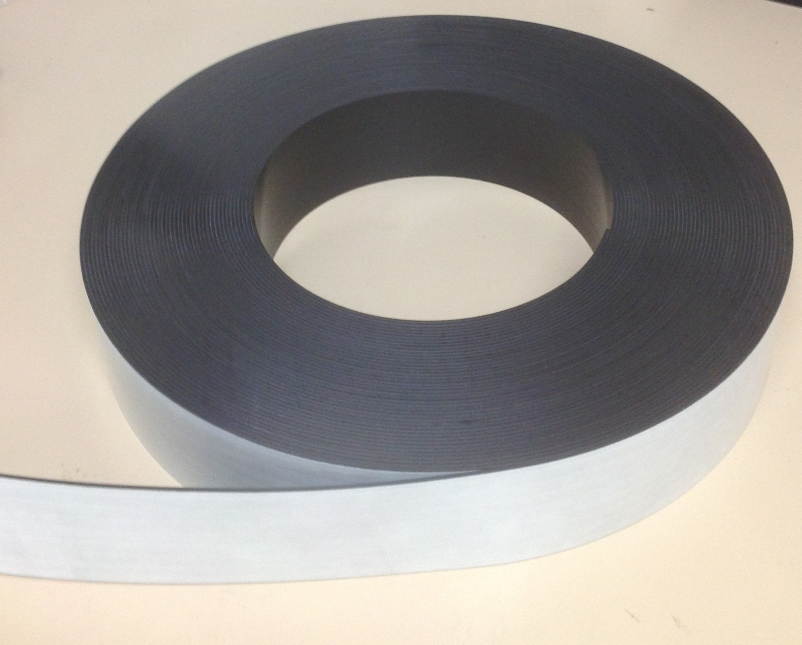 3'' x 100' Adhesive Indoor Magnetic Strip Roll 60 mil Magnet