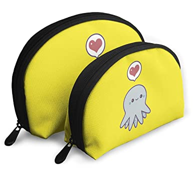 a5631289220f Amazon.com: Portable Bags Clutch Pouch Cute Cartoon Octopus Storage ...