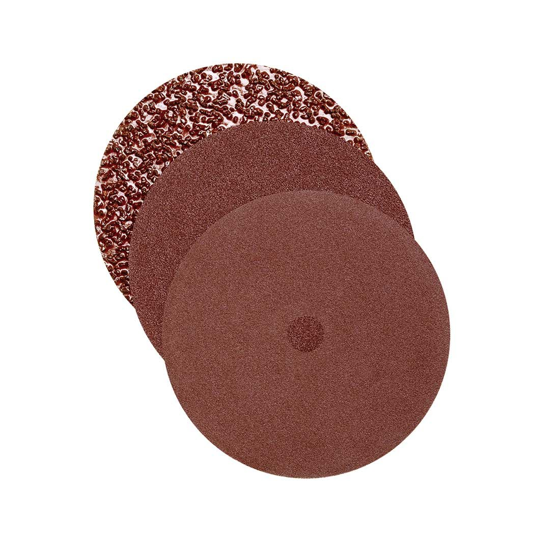 5 Pz. G36 RETOL Dischi abrasivi doppi monospazzole 406 mm p corindone normale a doppia pagina