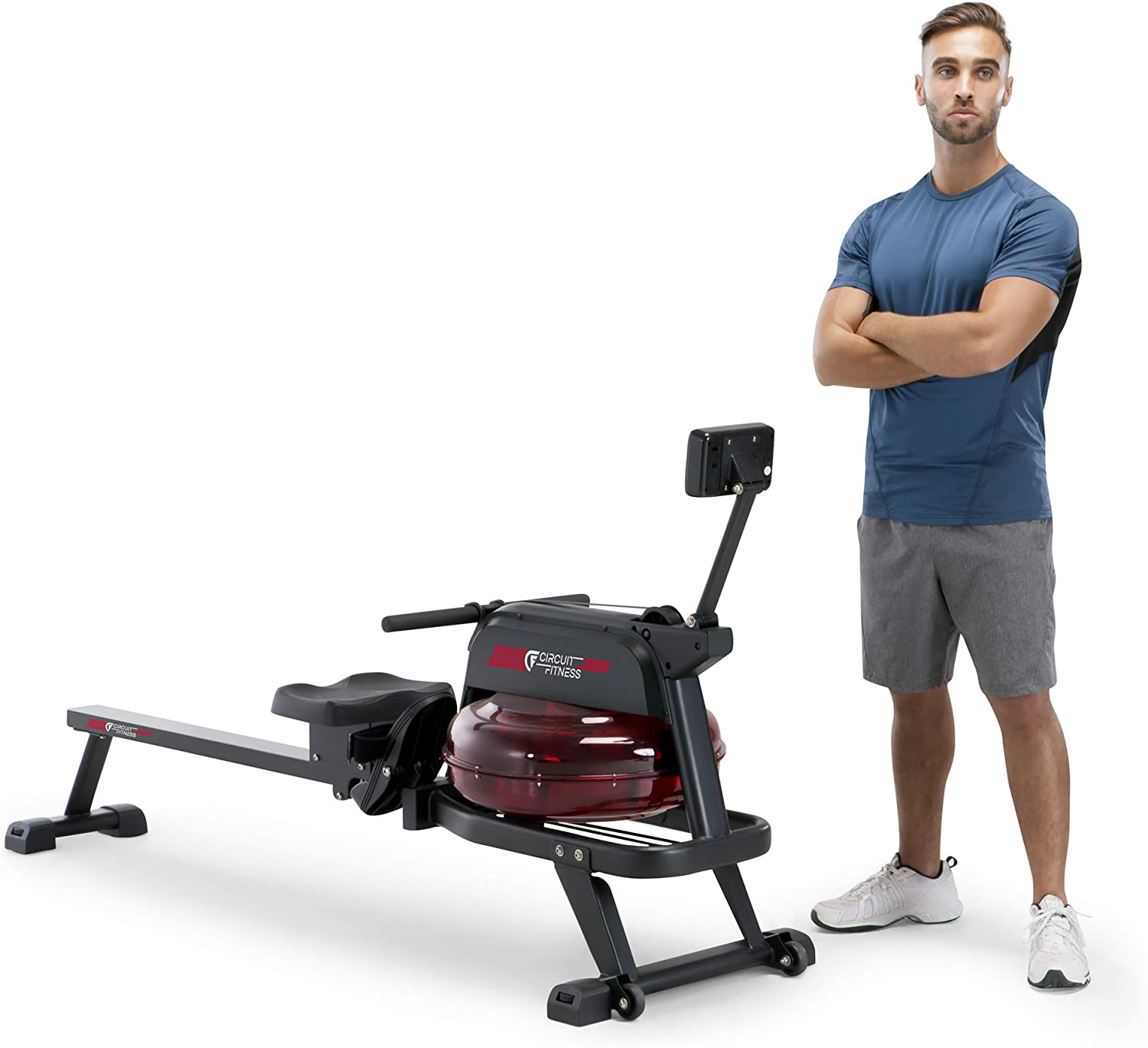 CIRCUIT FITNESS Circuit Fitness Water Rowing Machine