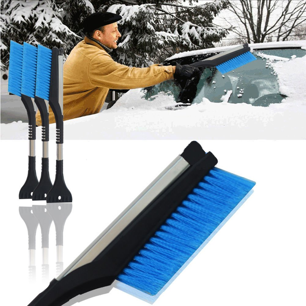 FidgetFidget New Extendable Snow Brush Ice Scraper Shovel Car Auto Windshield Window Wiper