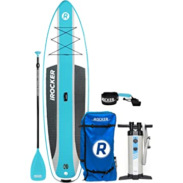 best iROCKER CRUISER Inflatable Stand Up Paddle Board 10'6 reviews