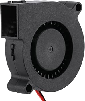 MadridGadgetStore® Ventilador Turbina 12V 5015 50x50x15 mm para ...