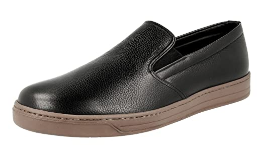 Men's 4D2733 Leather Loafers
