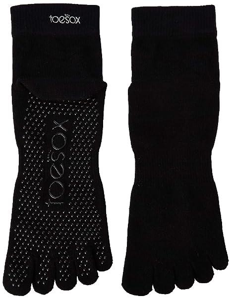 Toesox Calcetines de Yoga- Negros