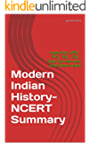 Modern Indian History- NCERT Summary: Useful for UPSC, PCS, PSC, SSC, State Civil services and Other Exams
