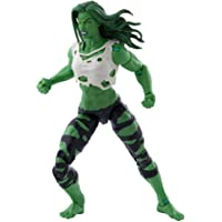 Hasbro Marvel Legends Series Avengers 6-inch Scale She-Hulk Figure and 3 Accessories for Kids Age 4 and Up