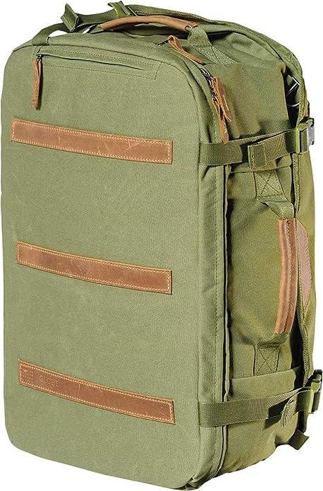 Globe The Nomad Travel Pack, Mochila Unisex Adulto, Verde (Army) 15x24x45 cm