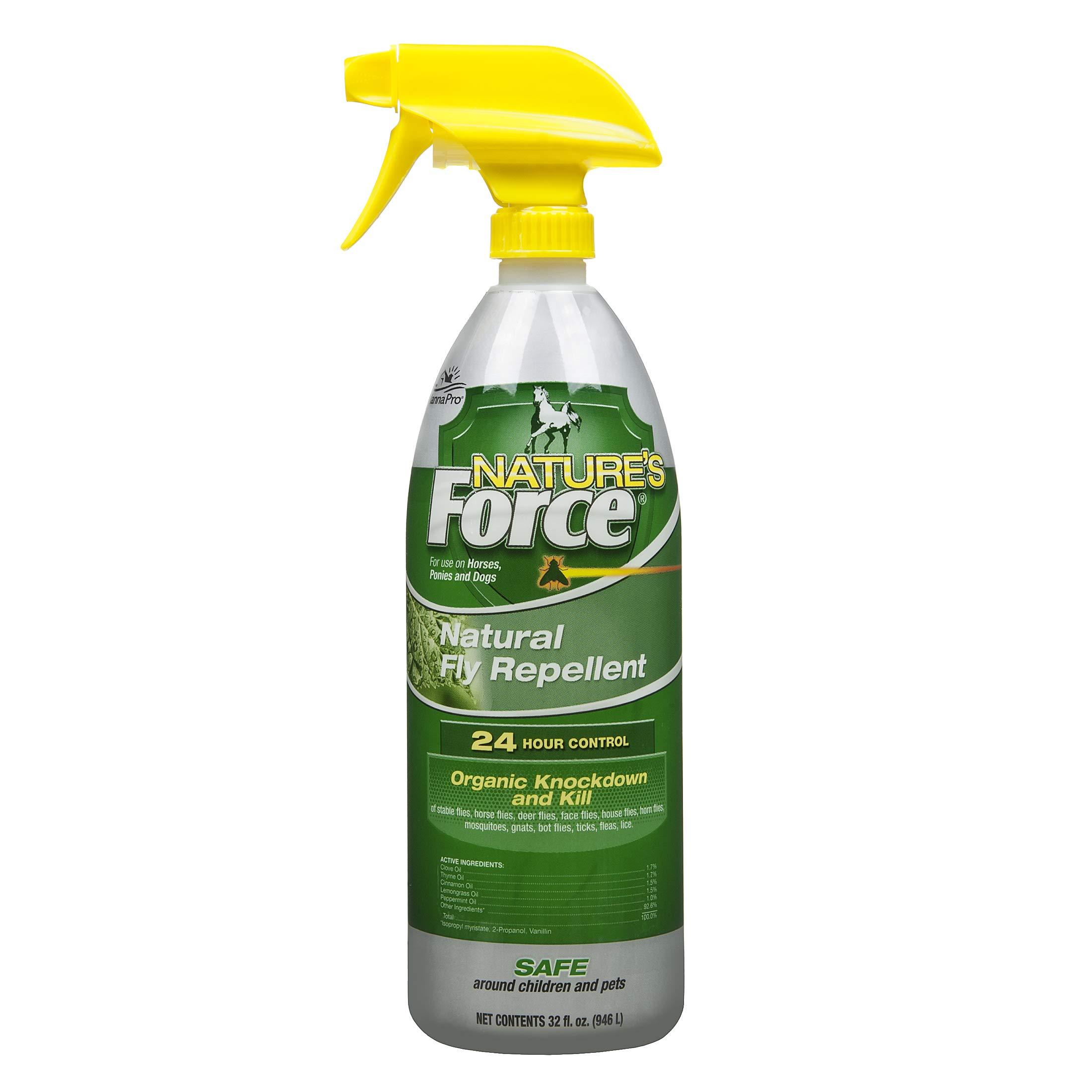 Manna Pro 667785 Nature's Force Fly Spray, 32 Oz, 1 Quart