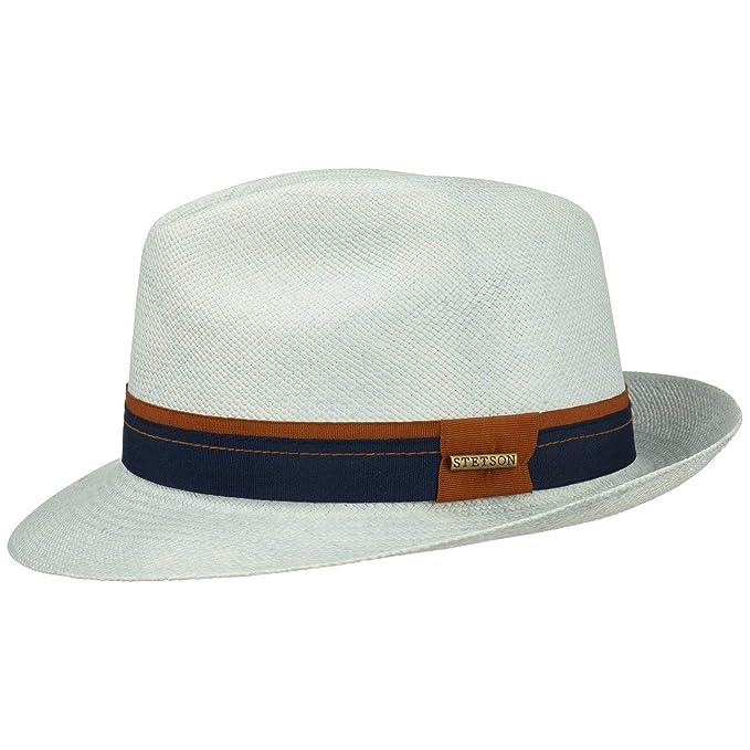 Stetson Cappello Panama Fedora 1 Uomo  653133fd63a6