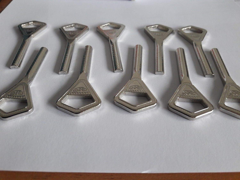 10 X ABLOY Keyblanks JMA  ABL 1