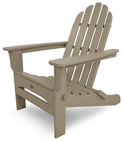 Exceptionnel Trex Outdoor Furniture Cape Cod Folding Adirondack Chair, Sand Castle