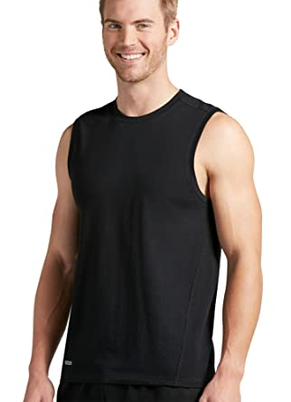 e0625df3 Jockey Men's T-Shirts Cotton Wick Muscle Tee at Amazon Men's ...