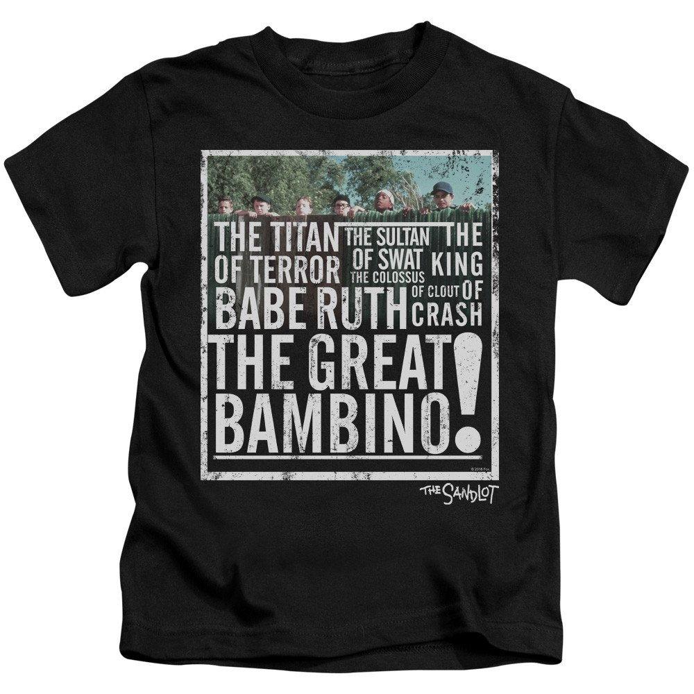 Sandlot The Great Bambino Kids T-Shirt