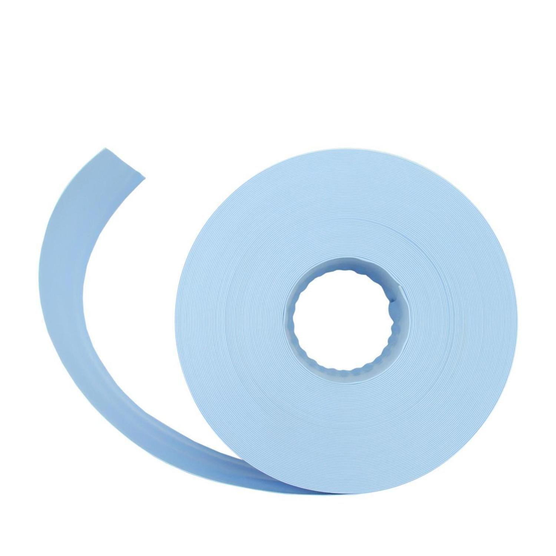 Light Blue Swimming Pool PVC Filter Backwash Hose - 50' x 1.5''