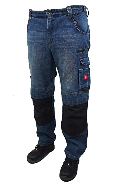 ever popular look for top design engelbert strauss GmbH & Co. KG Mens Trousers - Blue - W44 ...