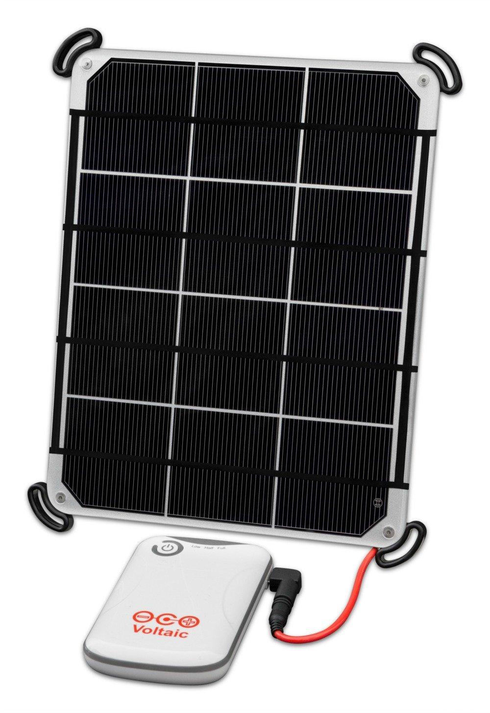 Cargador Solar Portatil con Bateria de 4000mah VOLTAIC Plate