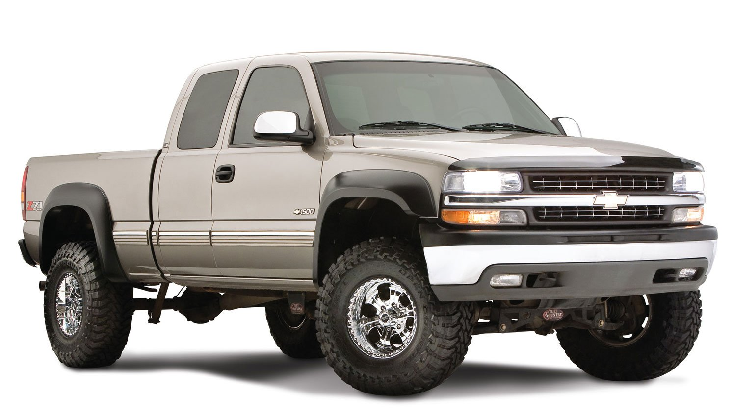 Bushwacker Chevrolet//GMC Extend-A-Fender Flare Set of 4