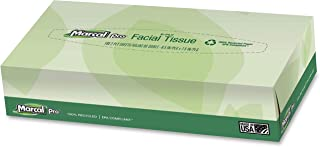 product image for Marcal 2930BX Facial Tissue,2-Ply,Soft,4-1/2-Inch x8-3/5-Inch x1-4/5-Inch,100 SH/BX,WE