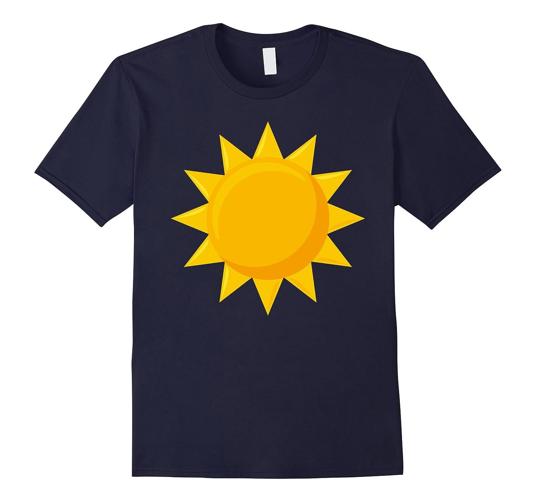 BFF Matching Sun And Moon Eclipse Sun T-Shirt-T-Shirt