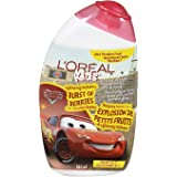 L'Oreal Paris Kids Disney Pixar Cars Lightening McQueen's Burst of Berries 2 in 1 Smoothie Shampoo, 265-Milliliter