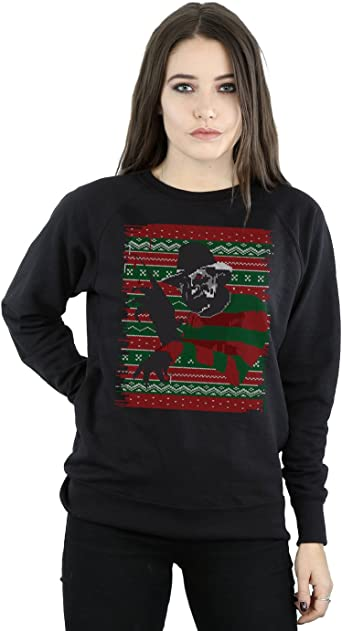 Freddy Krueger A Nightmare On Elm Street Christmas Xmas Holiday Sweatshirt Shirt
