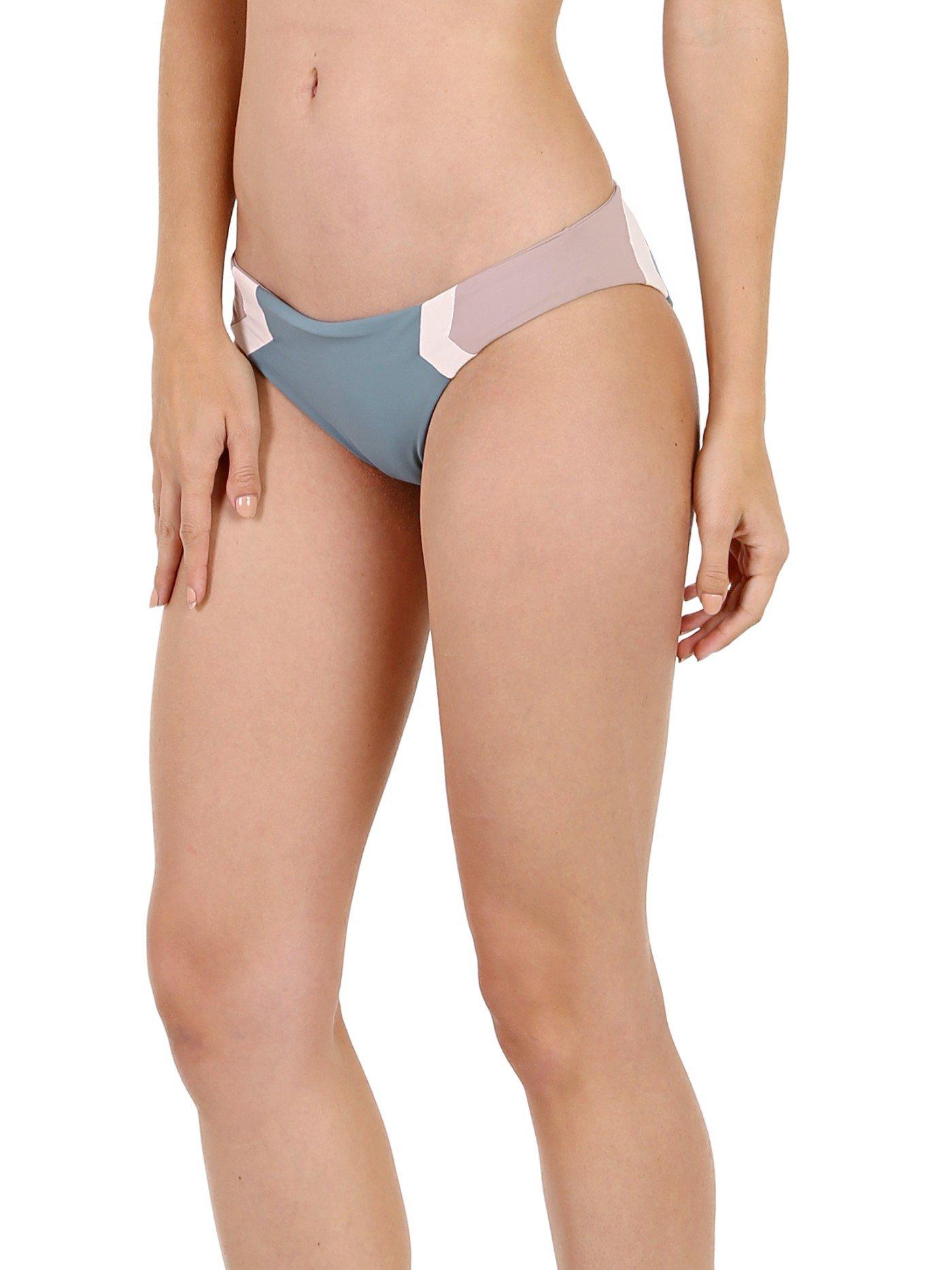LSpace Women's Color Block Reversible Hipster Bikini Bottom Slated Glass L
