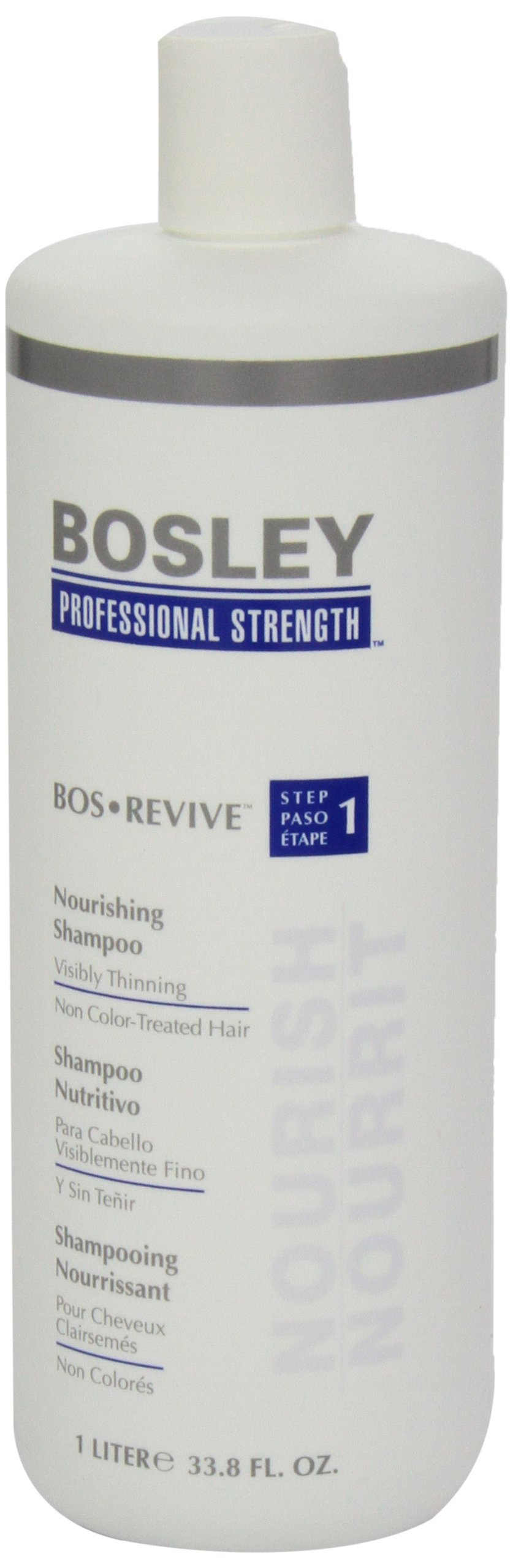 Bosley Bos Revive Nourishing Shampoo for Visibly Thinning Non Color-Treated Hair, 33.8 Ounce by Bosley Professional Strength (Image #4)