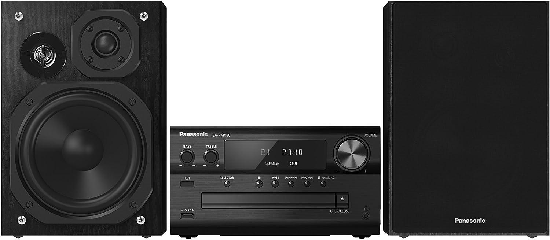 Panasonic SC-PMX80EG-K - Microcadena, 120 W, con Sonido de Alta ...