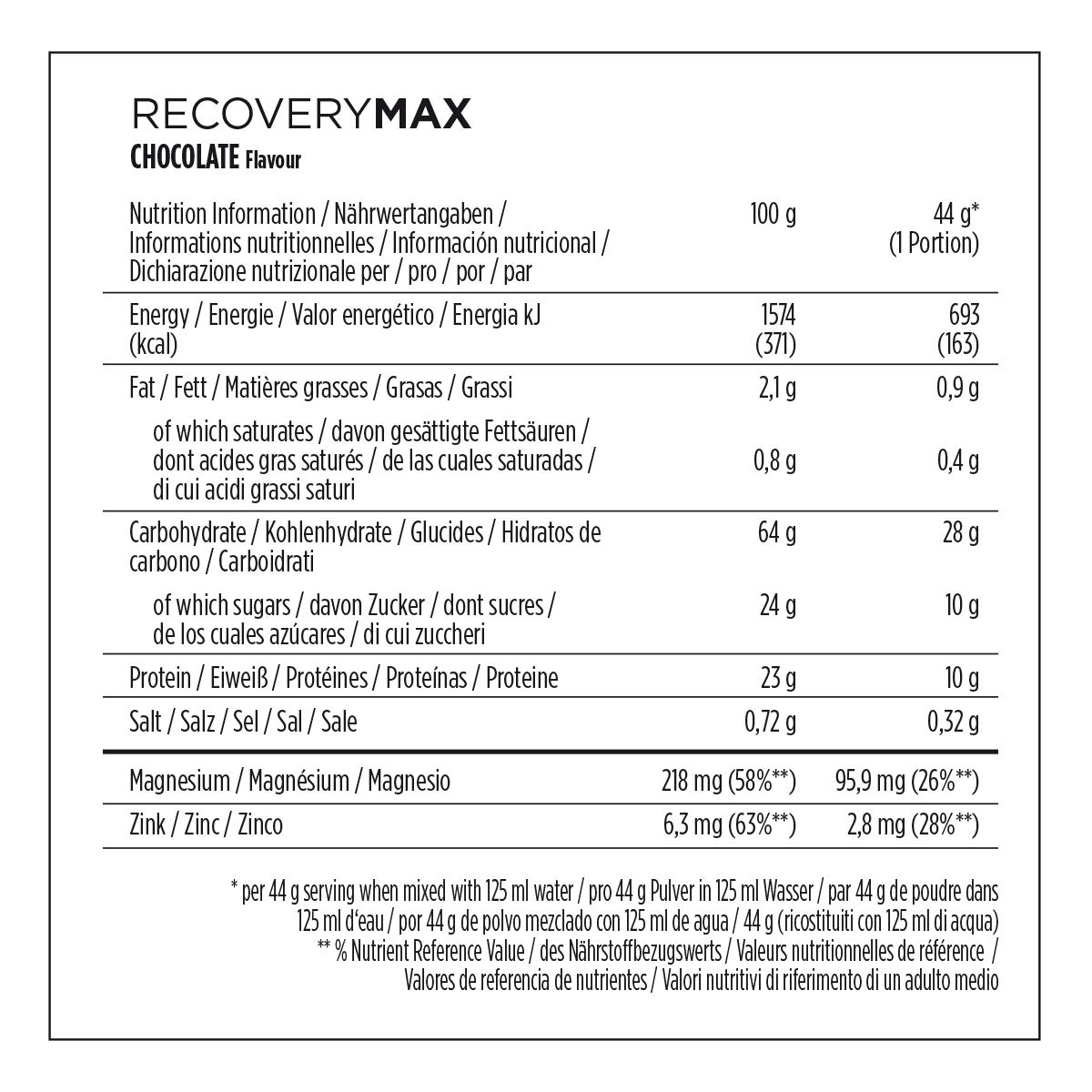 Amazon.com: PowerBar 1.144 kg Recovery 2.0 Chocolate Champion Drink by Power Bar: Health & Personal Care