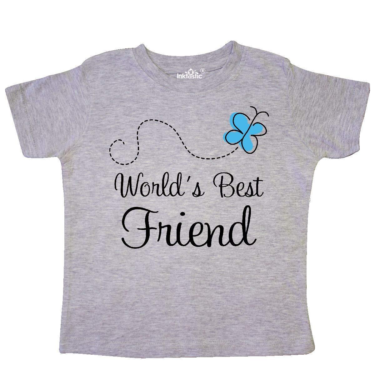 inktastic Worlds Best Friend Toddler T-Shirt