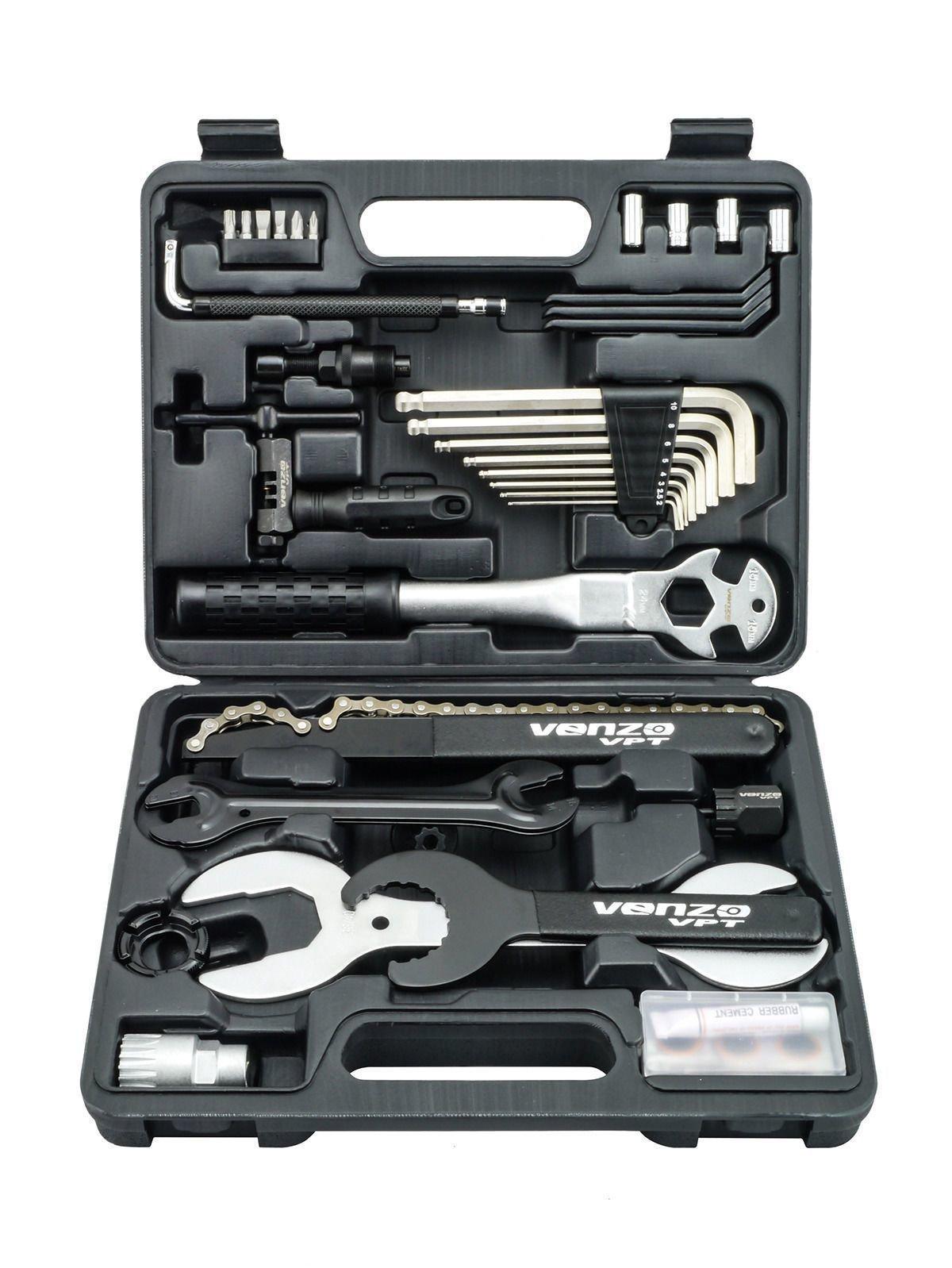 Venzo Premium Bike Repair Tools Tool Kit