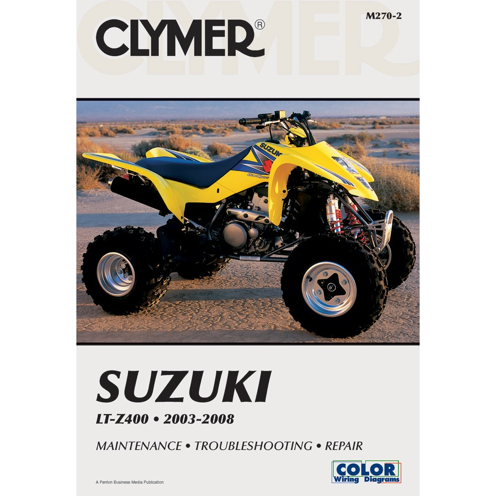 2003-2008 CLYMER SUZUKI ATV LT-Z400 SERVICE SHOP MANUAL M270-2:  Manufacturer: Amazon.com: Books