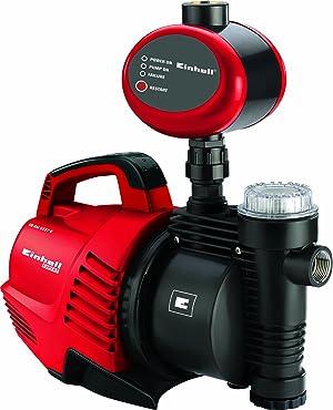Einhell 4176654 Grupo Automatico GE-AW 5537 e Potencia 550 w, 230 V, Rojo