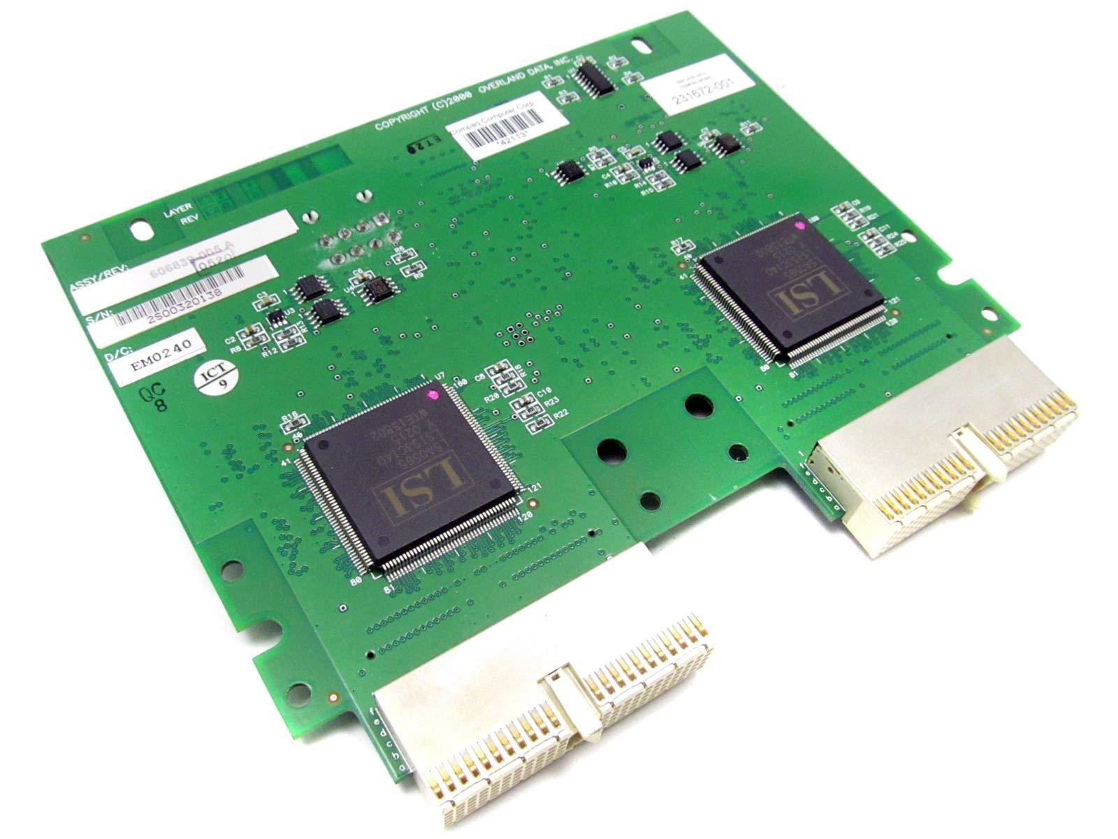 HP 231672-001 MSL5026 library hot plug board (Renewed)