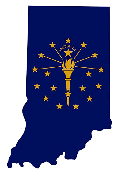 Amazon.com: Larger Than Life Prints 762988907053 Indiana State Flag on ma state map, ne state map, usa state map, indiana state physical map, california state map, florida state map, ecu state map, ari state map, wis state map, indiana state parks map, vol state map, new york state physical map, wyo state map, ny state map, indiana's state map, state of iowa county map, indiana and illinois state map, northern indiana state map, big indiana state map, indiana state city map,