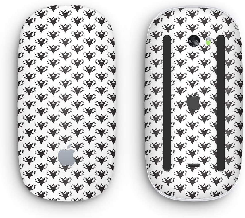 with Multi-Touch Surface The Arrowhead Antlers All Over Pattern Wireless, Rechargable Design Skinz Premium Vinyl Decal for The Apple Magic Mouse 2