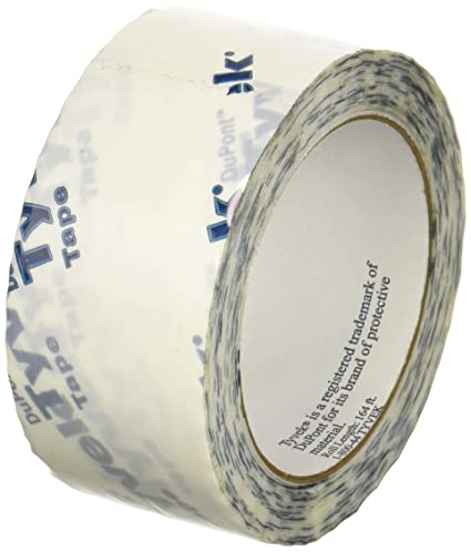 tyvek sheathing tape 1 88 x 164 tuck tape amazon com