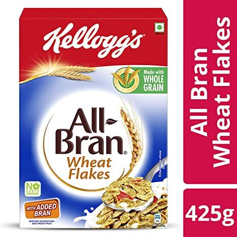 Kellogg's All Bran Wheat Flakes, 425g