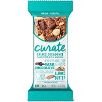 16 Count Curate Gluten-Free Salted 1.59 oz Snack Bars