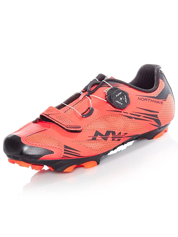 Amazon.com: Northwave MTB XC Shoes Scorpius 2 Plus Lobster Orange/Black: Sports & Outdoors