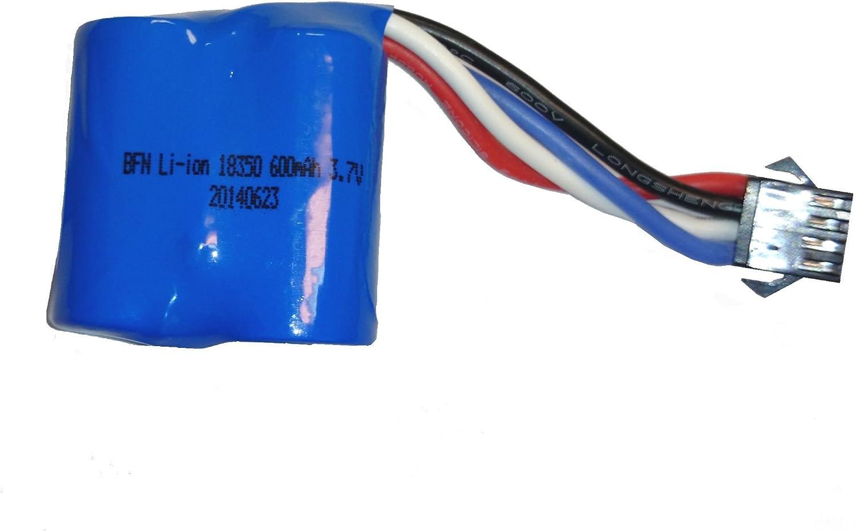 UDI RC TM Replacement battery for UDI R/C UDI001 Venom Speed Boat 3.7V 600mAh Li-ion