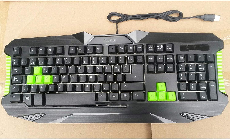 Desconocido Teclado Y Raton Gaming ESPAÑOL USB Mac OSX PC ...